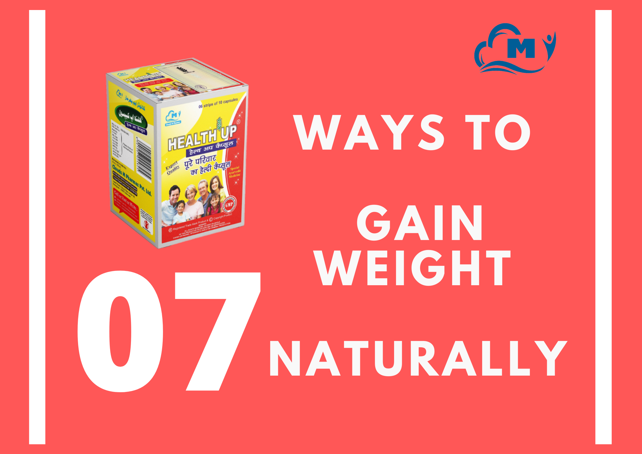 Read more about the article Here Are 07 Ways To Gain Weight Naturally!